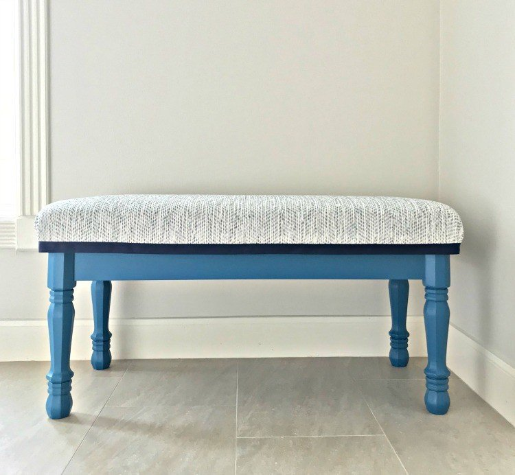 Easy Modern Farmhouse DIY Entryway Bench
