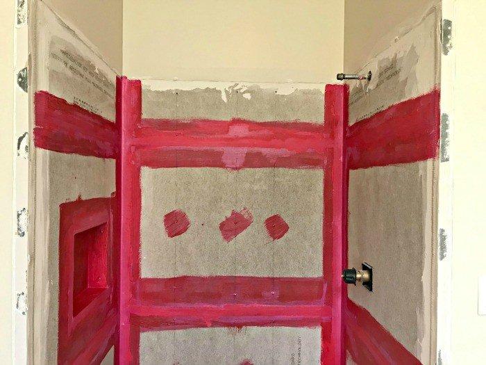 Bathroom Demo and DIY Shower Niche Installation