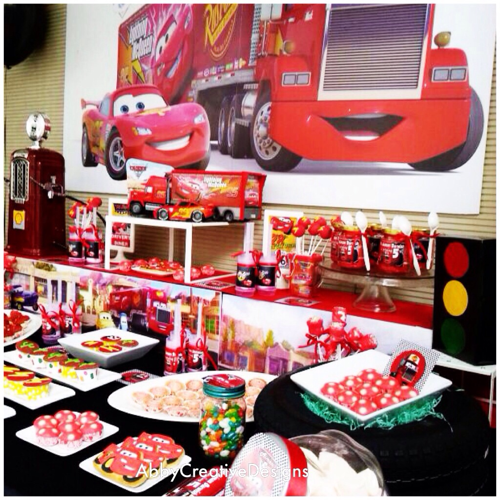 Theme Disney Mcqueen Mack Truck Birthday Its More Than Just A Party