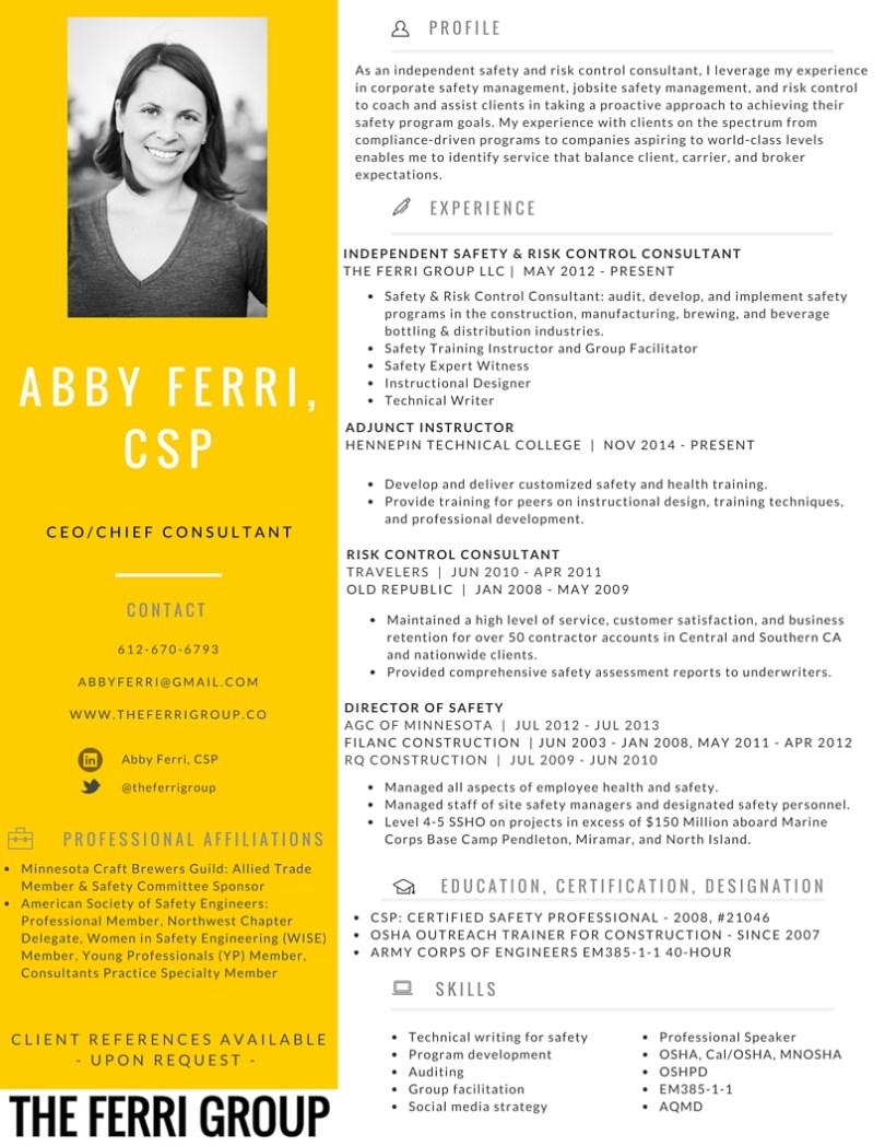 Abby Ferri Resume