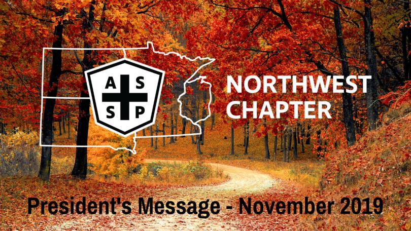 ASSP Northwest Pres Msg Nov