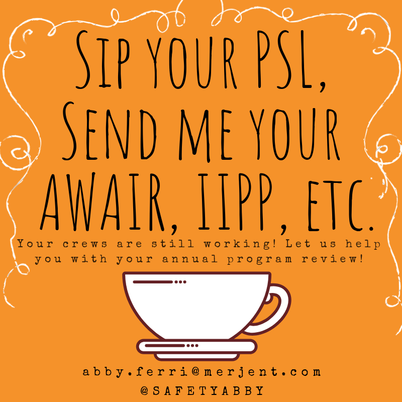 Sip your PSL, Send me your AWAIR, IIPP, etc. (1)
