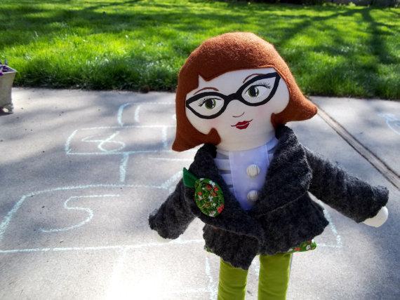 Custom doll by rachel linquist