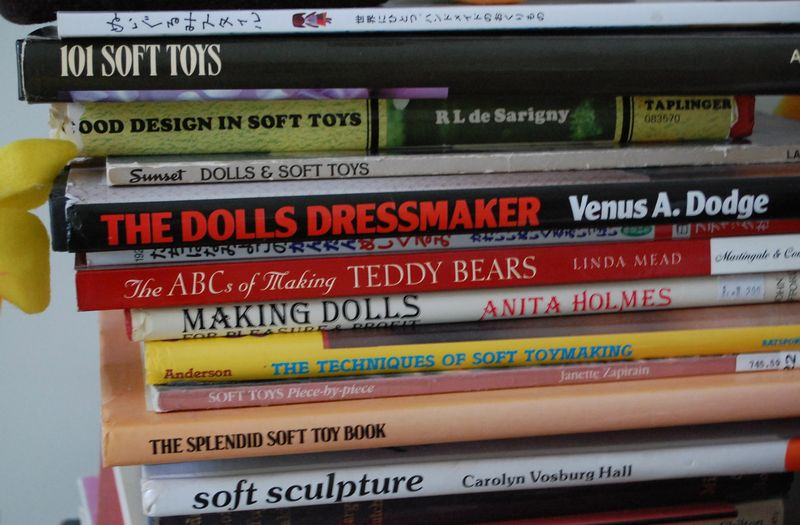 Soft toy books