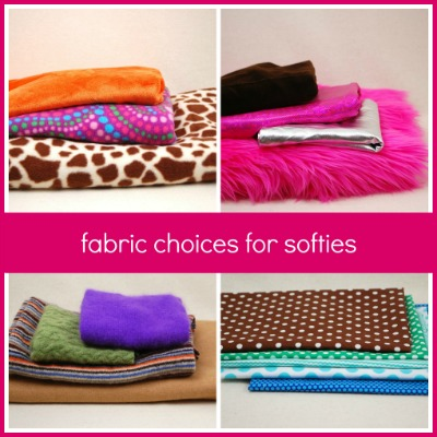 Fabric choices for softies