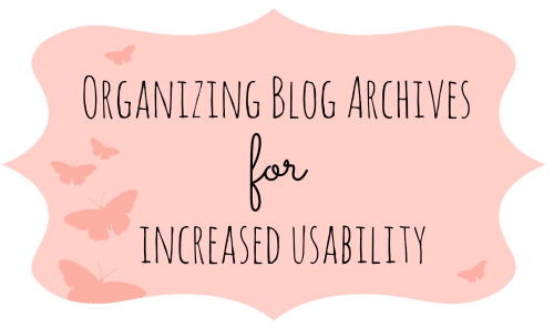 Blog archives graphic
