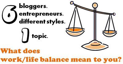Work Life Balance Graphic