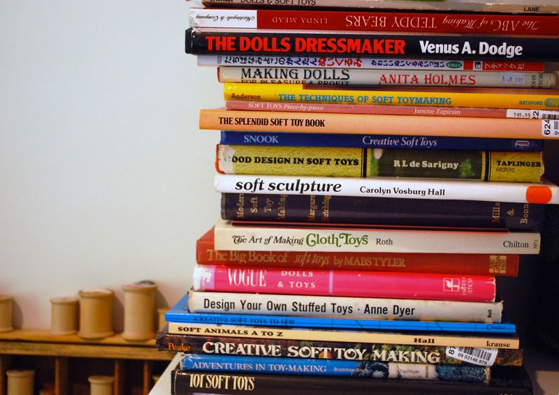 Soft toy books