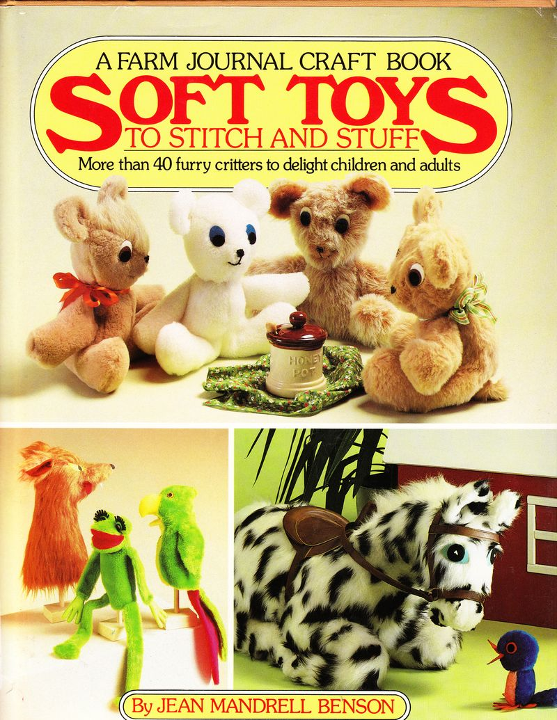 Soft Toys to Stitch and Suff Cover