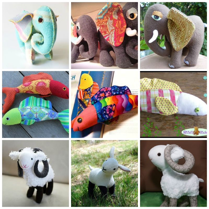 Toys People Have Made From Stuffed Animals