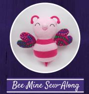 Bee Mine Button