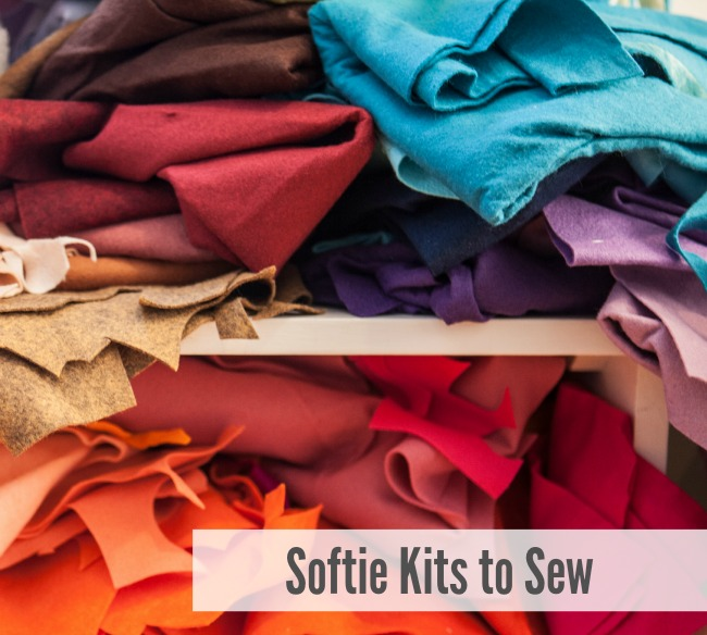 Softie Kits to Sew