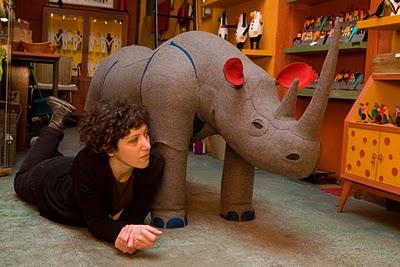 Rhino and mariela