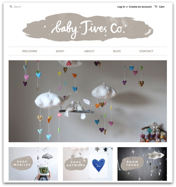BabyJives online