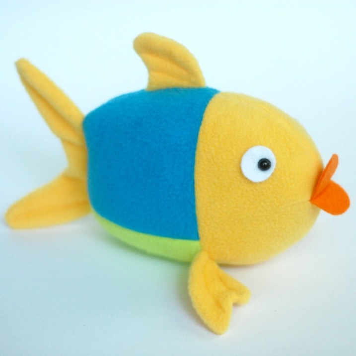 Penny the Fish Free Pattern