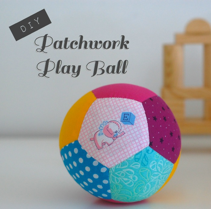 Tutorial Patchwork Play Ball Made With English Paper