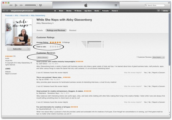 iTunes tutorial 4