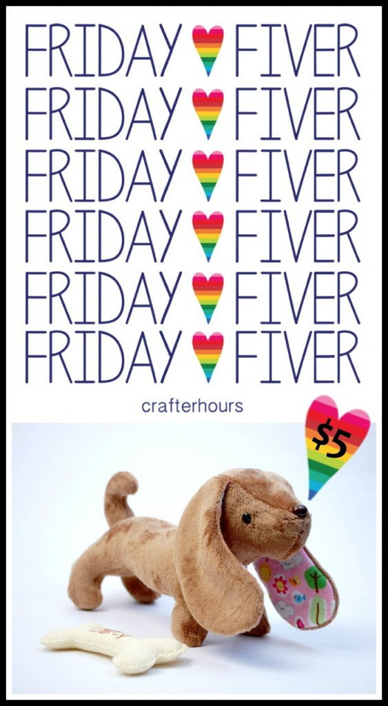 Darcy Friday Fiver