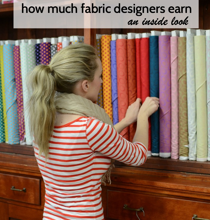 An Inside Look at How Much Fabric Designers Earn