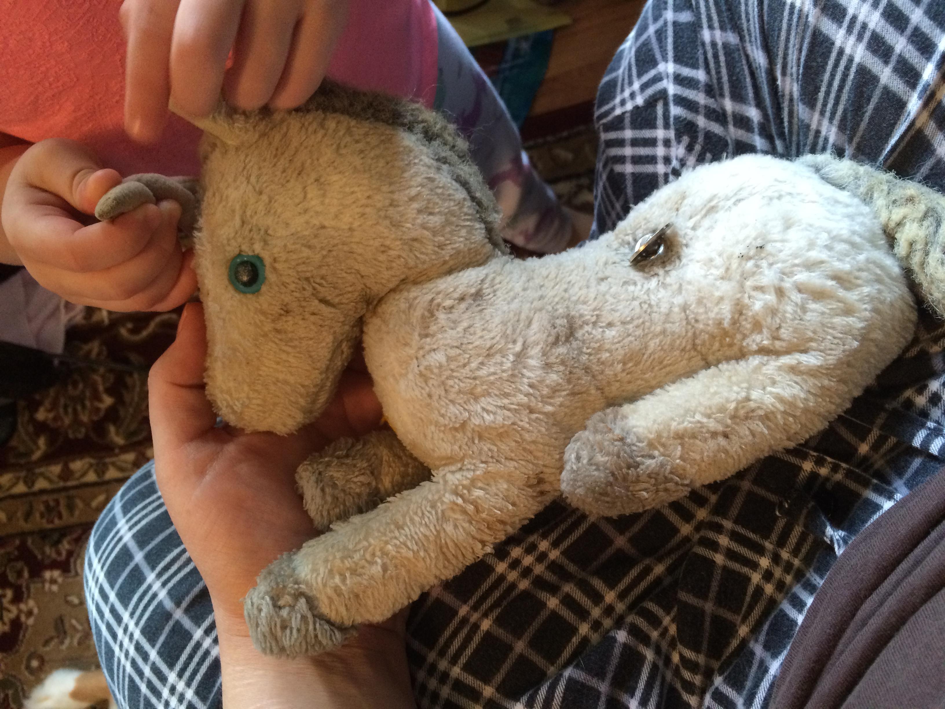 7403b533b Repairing a Beloved Stuffed Animal - whileshenaps.com