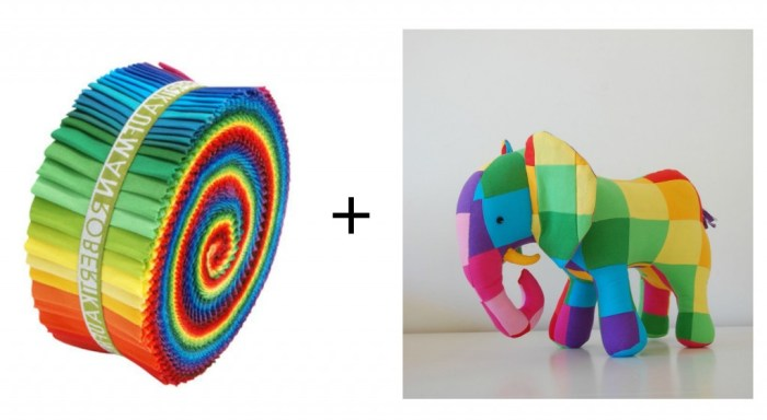 roll and elephant