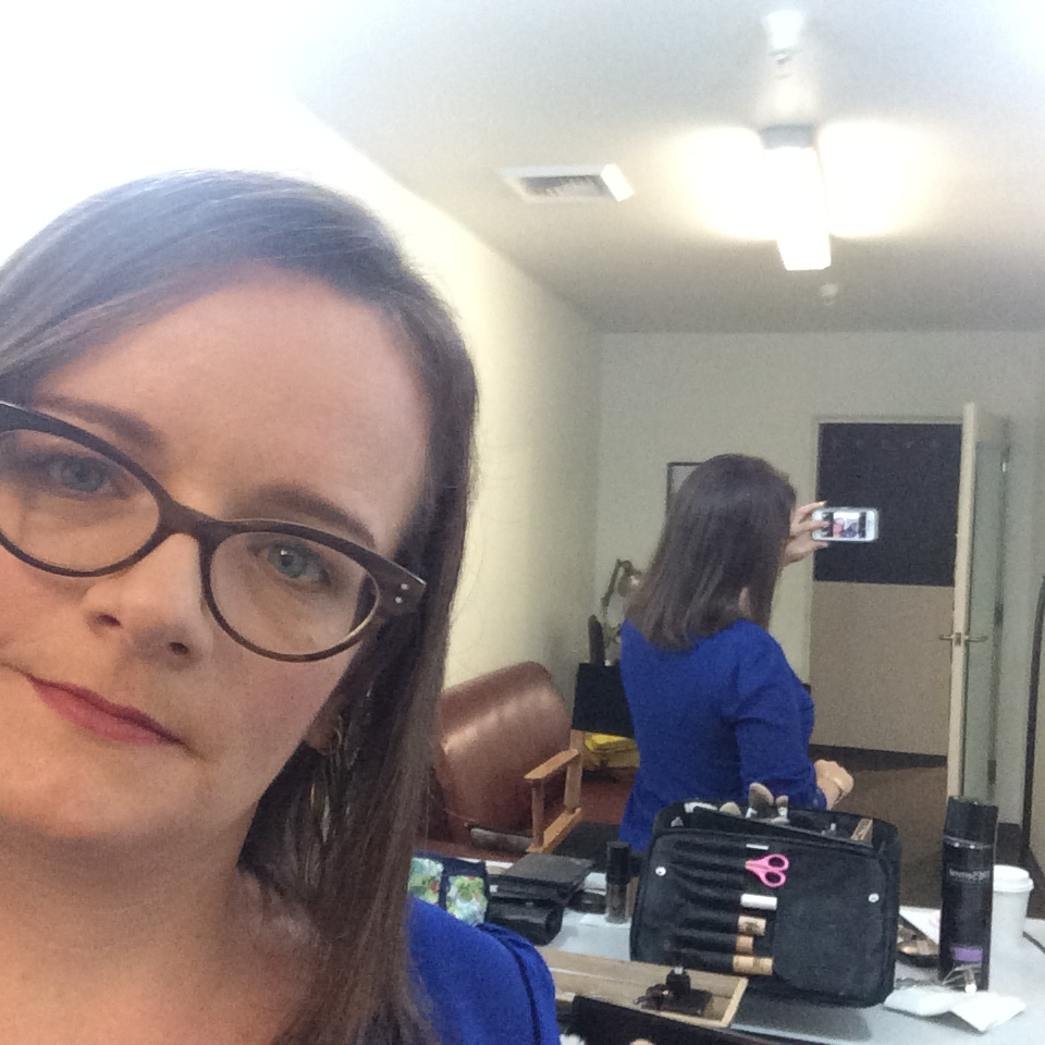 Abby with makeup