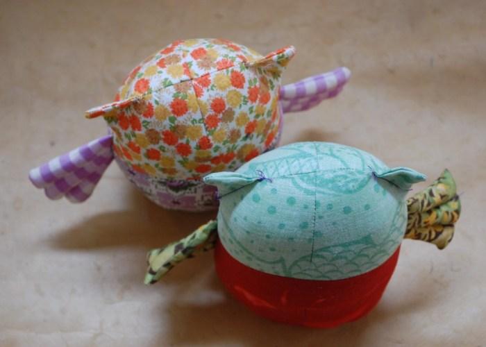 owl prototypes sewn