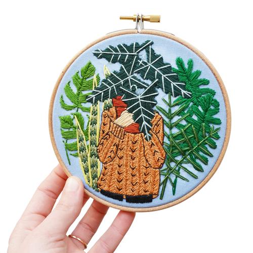 Sarah K Benning Embroidery