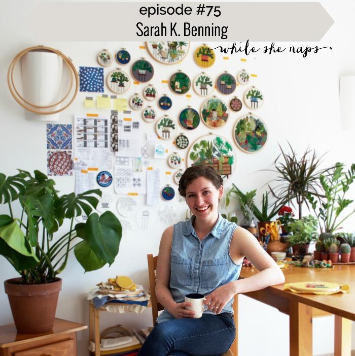 Episode 75 Sarah K Benning