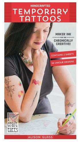 Alison Glass Temporary Tattoos