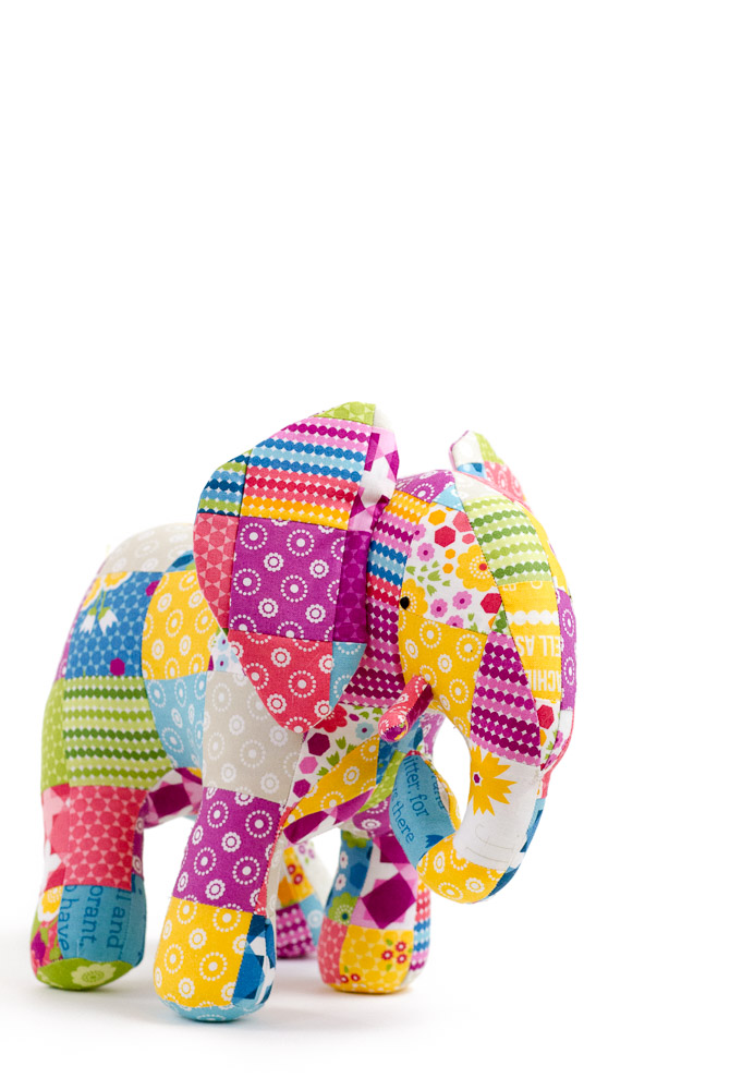Patchwork Elephant and Quilt