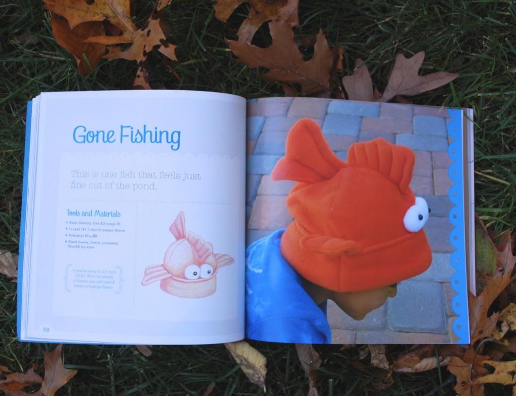 Fleece Hat Friends Goldfish