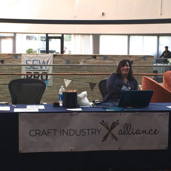 Craft Industry Alliance at Sew Pro