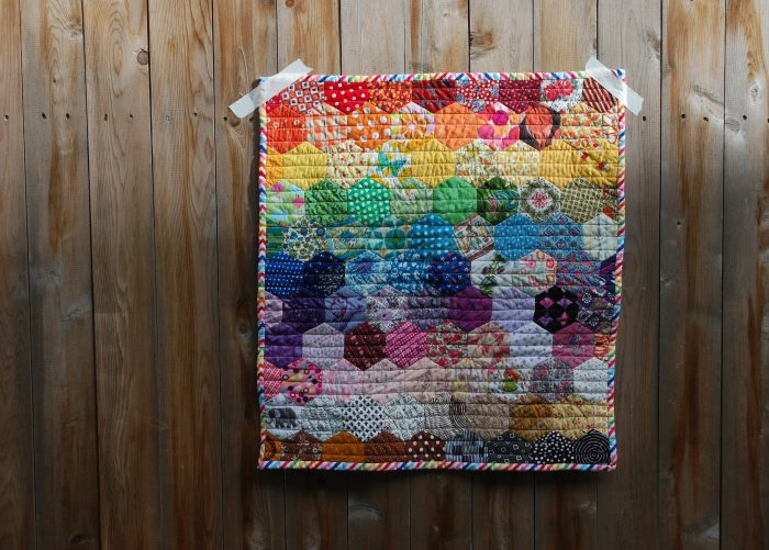 quilt by abby glassenberg