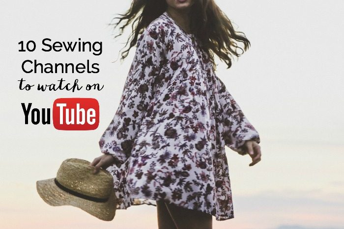 10 Sewing Youtubers To Watch Whileshenapscom