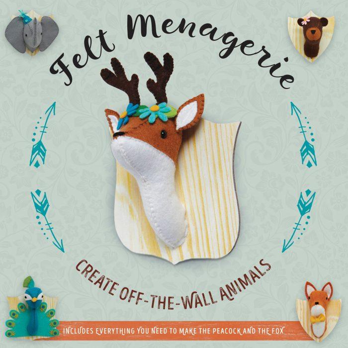 Felt Menagerie Kit