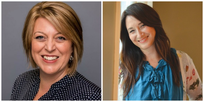 Amy Ellis and Christine Ricks co-founded Curated Quilts magazine