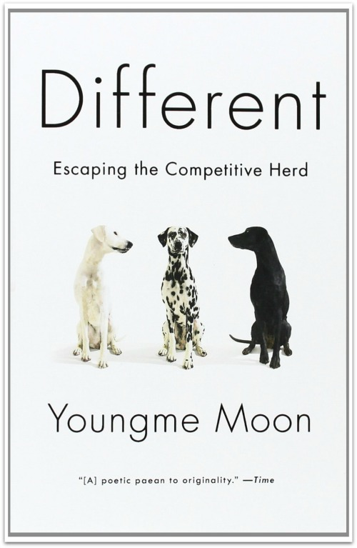 Different Escaping the Competitive Herd