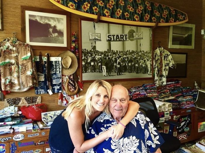 Hailey Hoffman Chisholm and Walter Hoffman of Hoffman California Fabrics