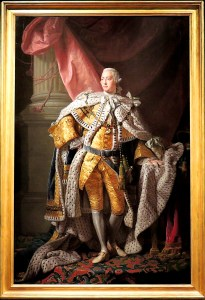 King George III at his coronation September 22nd 1761 by Allan Ramsay