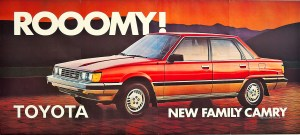 New roomy Toyota Family Camry 1983