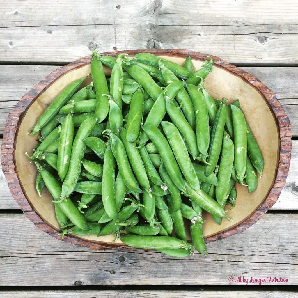 pea and watercress peas