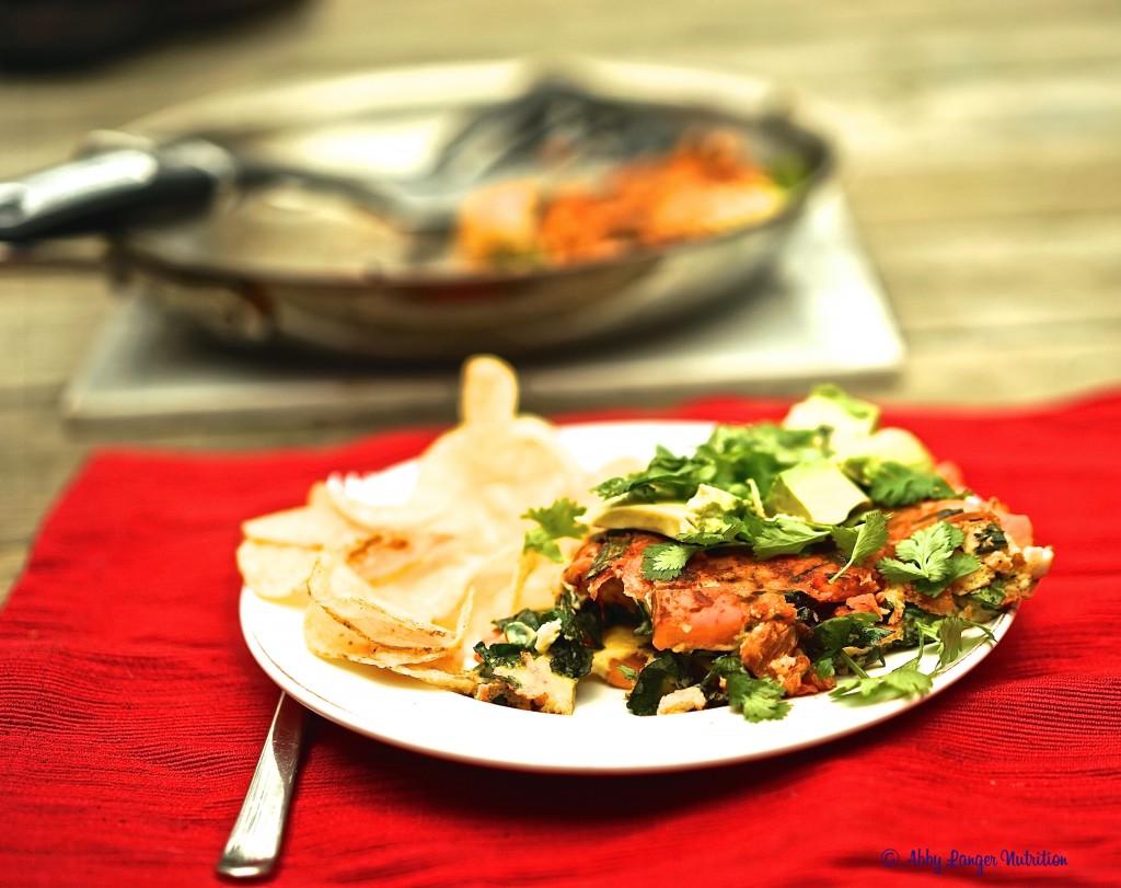 Kimchi Omelette 6