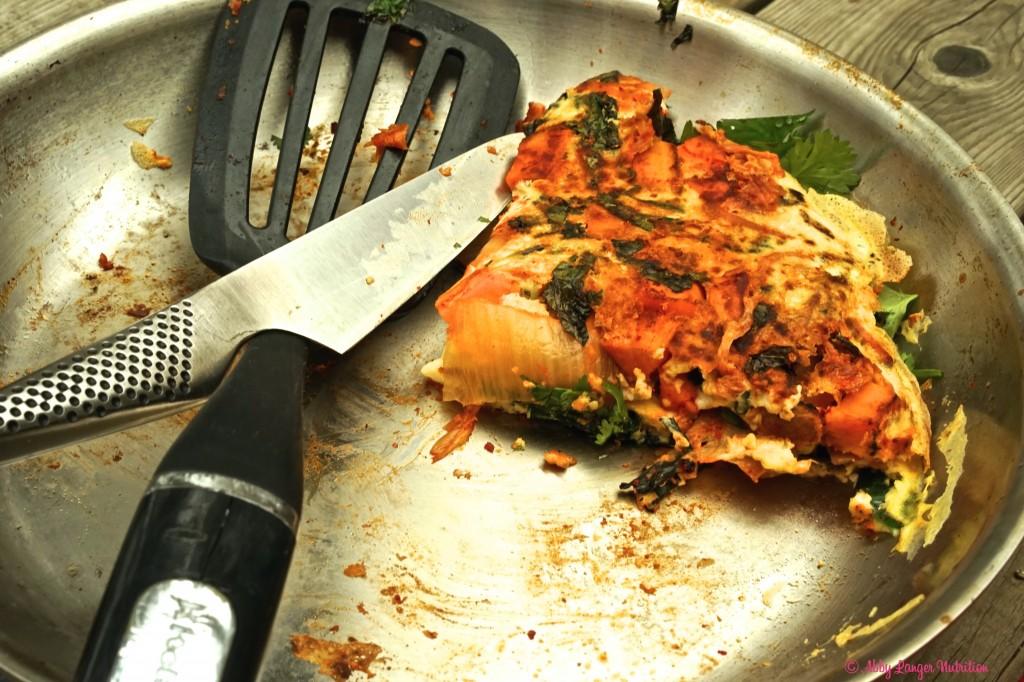 Kimchi Omelette 8