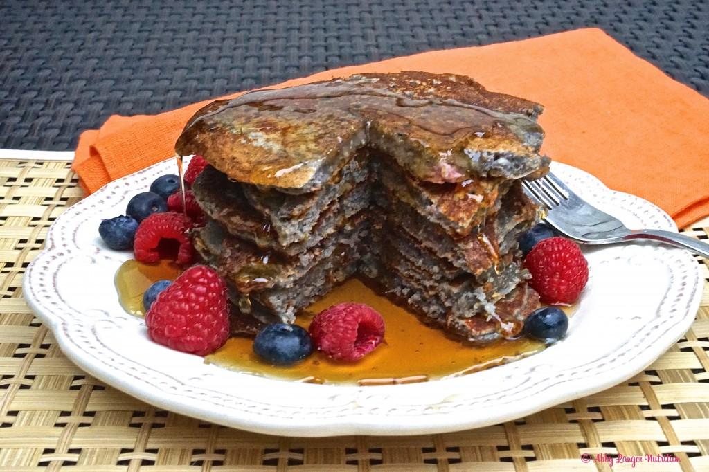 Protein Pancakes Stack