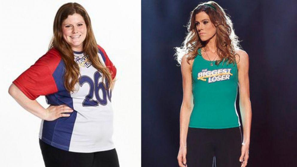 Biggest loser Rachel Frederickson