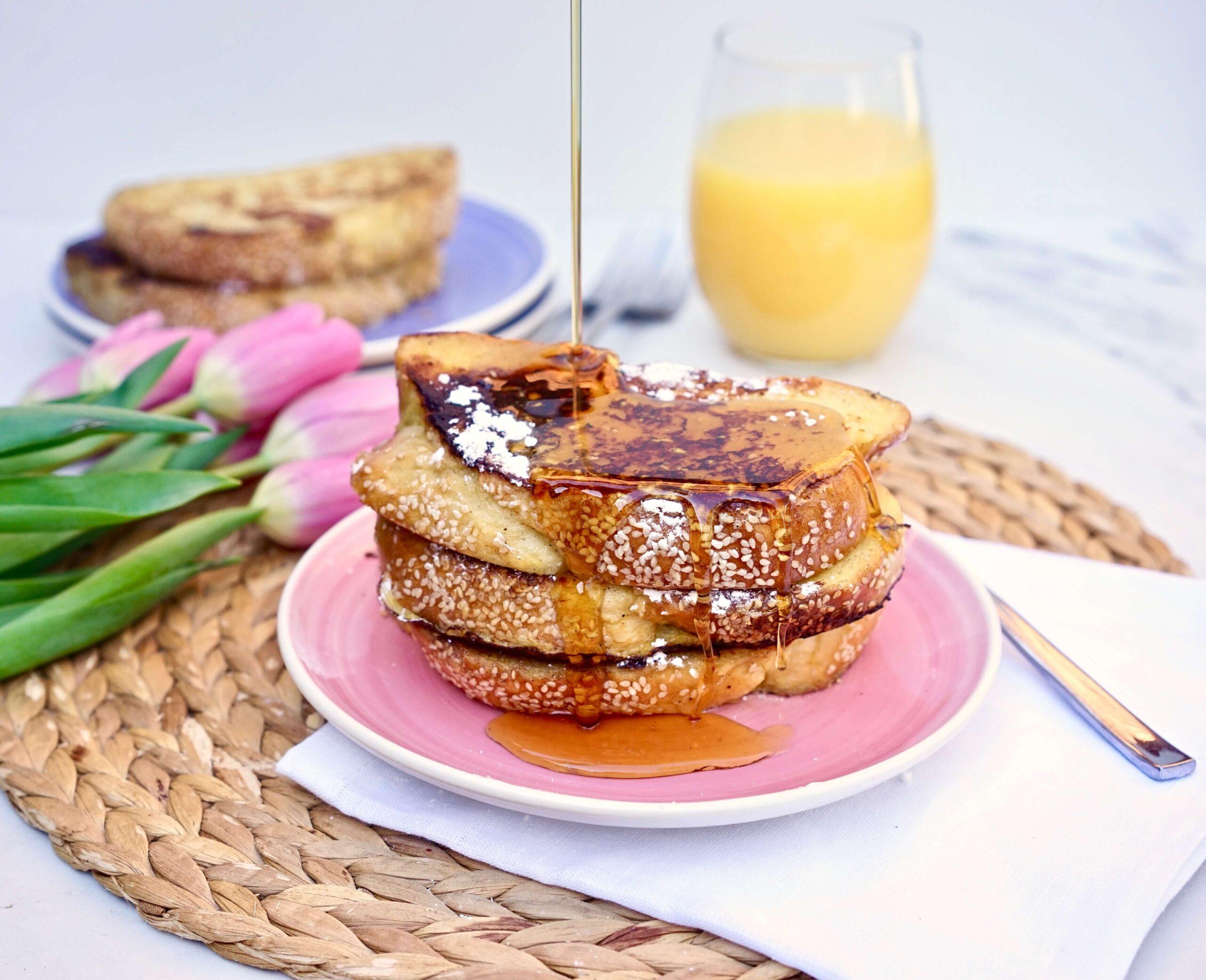 Florida Orange Juice French toast recipe