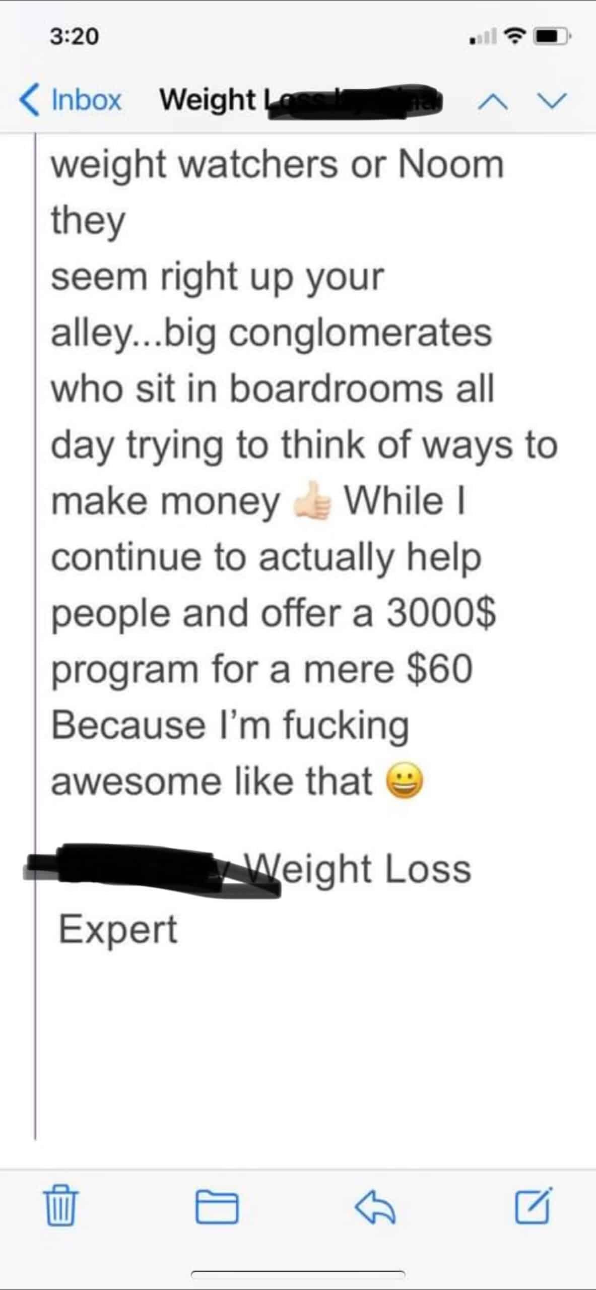 weight loss expert