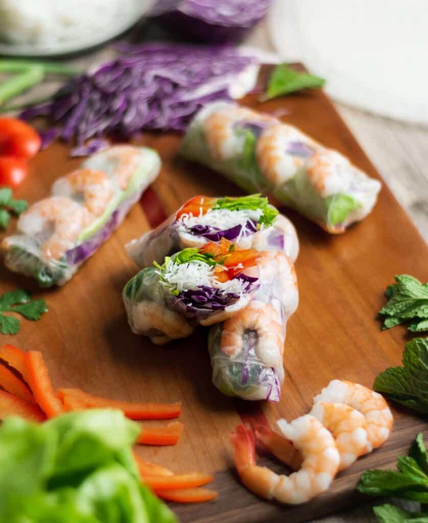 fresh spring roll recipe