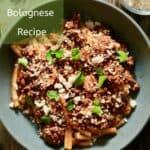 best pasta bolognese